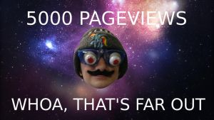5K PAGEVIEWS by TurboBrycerox