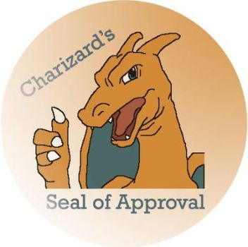 Charizard's Seal of Approval by Flight-of-Thunder
