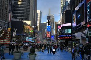 Buggy's Times Square 4 by TheBuggynater