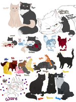 OP Kitty doodles again by Nire-chan