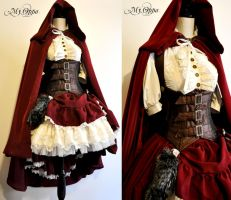 Little red riding hood steampunk by My Oppa by myoppa-creation