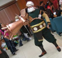 Drachma cosplay - Romics 2006 by Skull-the-Kid