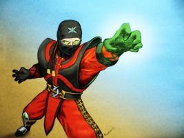 Ermac MKD color by PitBOTTOM