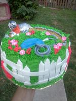 gardening cake view 2 by greeneyes3675