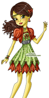 Miss Apple - Ambrosia - Monster High OC by Trilly21