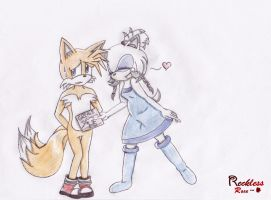 Vamos, Tails! Sera una bomba! Si? Si? by xRecklessRose