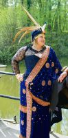 Bollywood Steampunk - British East-Indian Sari by Arsenal-Best