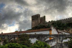 Obidos clouds - part III by ruivazribeiro