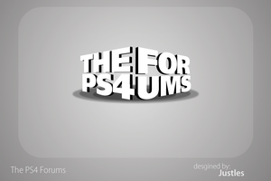 The PS4 Forums Logo by Kidbomber