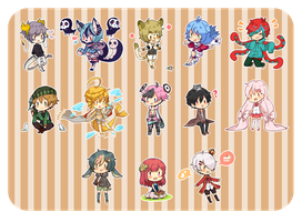 Mini cheeb set2 by chocomin