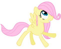 Filly Fluttershy by ThePonyIsATrue