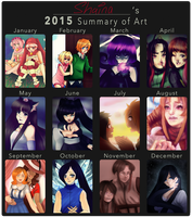 2015 Summary of Art by Punkichi