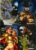 Spellcasters Sketch Cards 03 by RichardCox