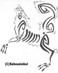 Tribal- Animal by Mongrelistic