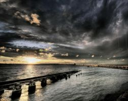 St.Kilda Sunset by MattyMacPhotography