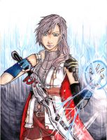 Final Fantasy XIII: Lightning by kiwihugs