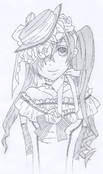 ciel phantomhive by yuzuk1