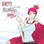 Happy BirthdAY fabulous Akashi Seijuro by edline02