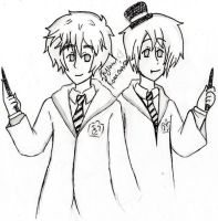 Aph: England and Romania by MoreTeaLove