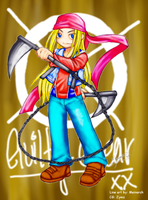 Guilty Gear- Axl-Low by Zymz