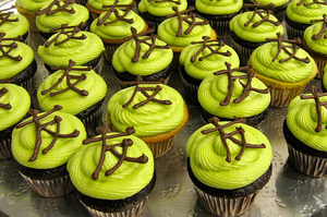 Green Tea Cupcakes.. by Manso0n