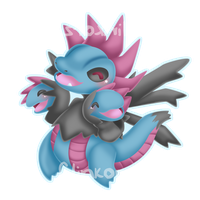 Hydreigon by Clinkorz