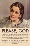 Please God, Tell Me by poasterchild