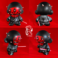 Star Wars Darth Maul 7 in. Munny with box by FullerDesigns