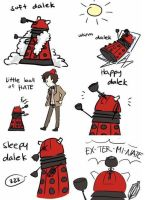 Daleks are awesome by StatAnimalLover