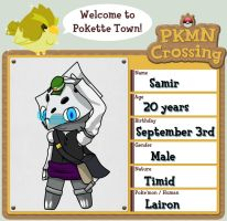 PKMN Crossing: Samir by Twero