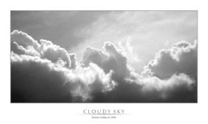 Cloudy Sky - 1 by denise-g