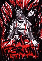 zombie soldier by 123wbb