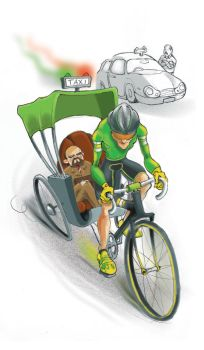 Unemployed bike riders by felixreview