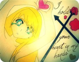 I hold your heart in my hands. by xox-Brittany-xox