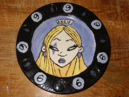 Zombie Girl Plate 06 Front by Gummibearboy