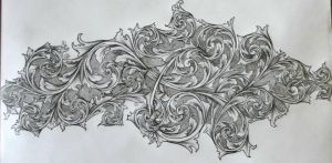 studies in scroll work by Serrien1
