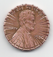 Action penny by derranged-gadgeteer