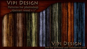 Patterns - Abstract wood v.1 by elixa-geg