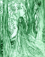 Queen of the Woodland Spring by RebeccaTripp