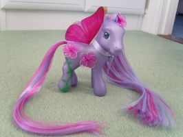 Cherry blossom custom mlp3 by thebluemaiden