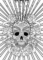 Mexican Skull. by andreavelazquez