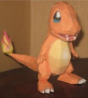 Charmander by paperart
