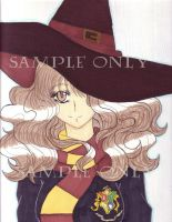 hatted Hermione by Chibiusa14