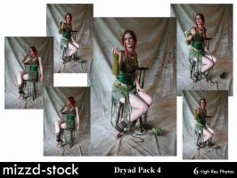 Dryad Pack 4 by mizzd-stock