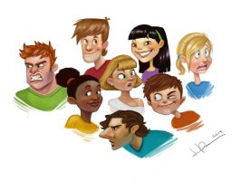 Character Illustrations by jericilag