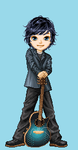 LiamDraconys, the Songwriter on Doll Maker by CloudyRose06