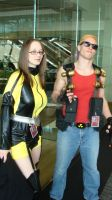 Miss Jupiter and Duke Nukem by Chaosgamer137