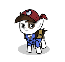 Pipsqueak the Explorer by EqGBassKick