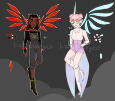 crystal wings adopts batch 1 - 2/2 OPEN by kat-eunhyeo