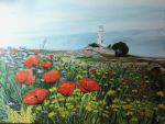 A new poppies painting by Semisvetick